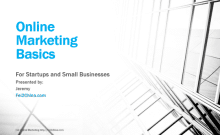 Online Marketing Strategies for Small Businesses