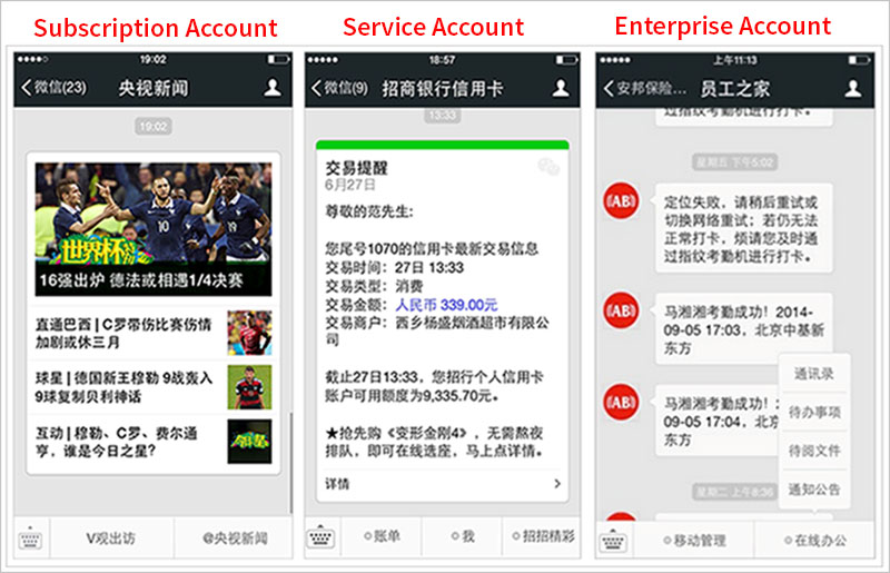 WeChat Official Account Examples - Register a WeChat Official Account - Fei2China.com