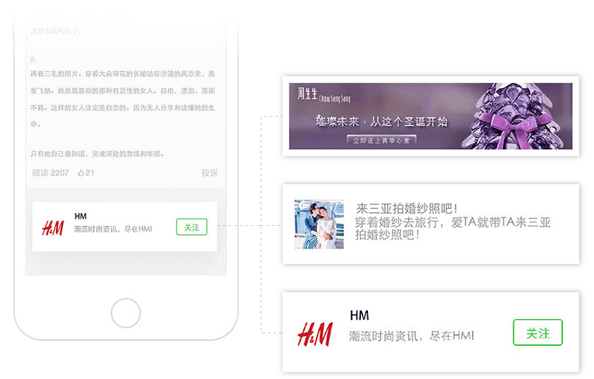 WeChat Public Accounts Advertising-ad formats